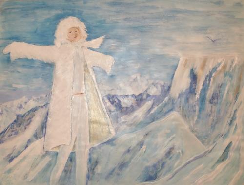 vrijheid op de berg